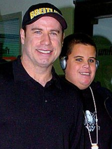 Travolta and son Jett in an undated photo