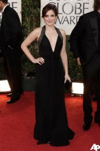 Fey on last night's Red Carpet